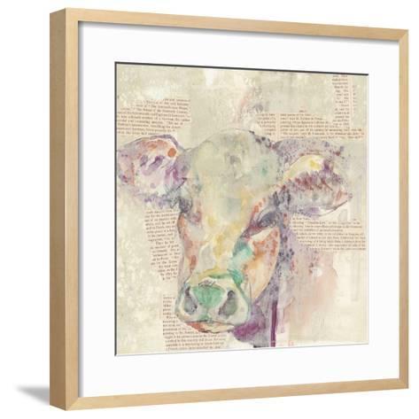 Farm Collage II-Jennifer Goldberger-Framed Art Print