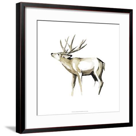 Watercolor Woodland I-Grace Popp-Framed Art Print