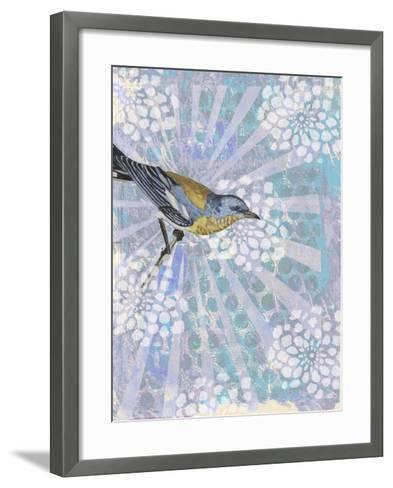 Songbird Batik I-Naomi McCavitt-Framed Art Print