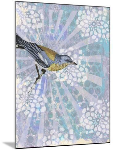 Songbird Batik I-Naomi McCavitt-Mounted Art Print