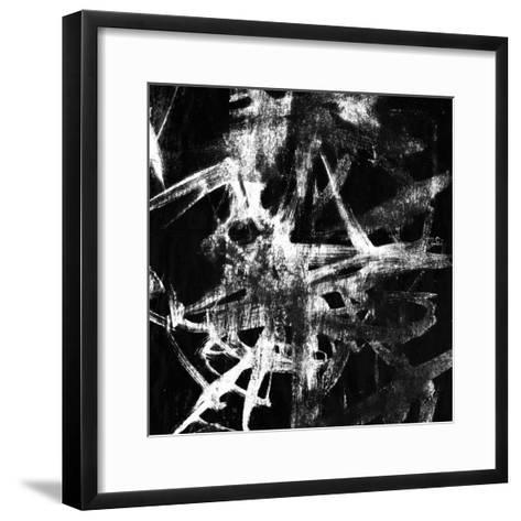 Monotype Scribble IV-Jennifer Goldberger-Framed Art Print