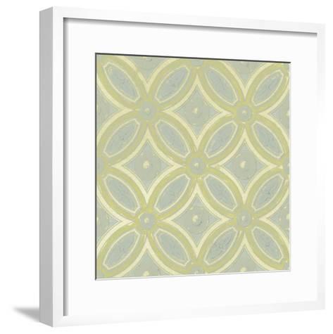 Pastel Tile Design II-Studio W-Framed Art Print