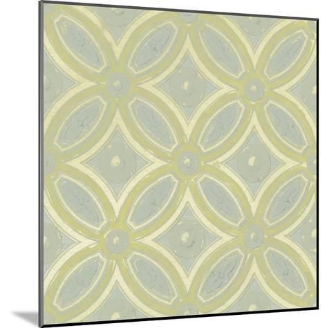Pastel Tile Design II-Studio W-Mounted Art Print