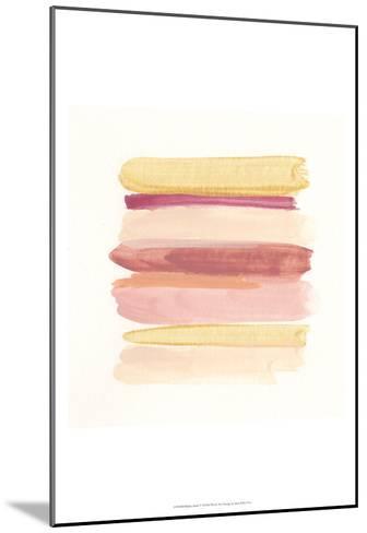Palette Stack V-June Erica Vess-Mounted Art Print