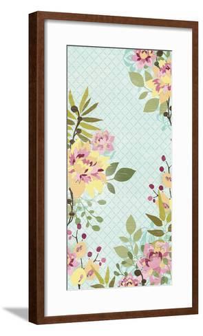 Sangria Garden II-June Erica Vess-Framed Art Print