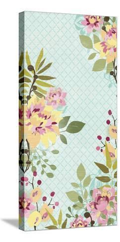 Sangria Garden II-June Erica Vess-Stretched Canvas Print
