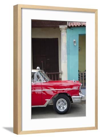 Cars of Cuba II-Laura Denardo-Framed Art Print