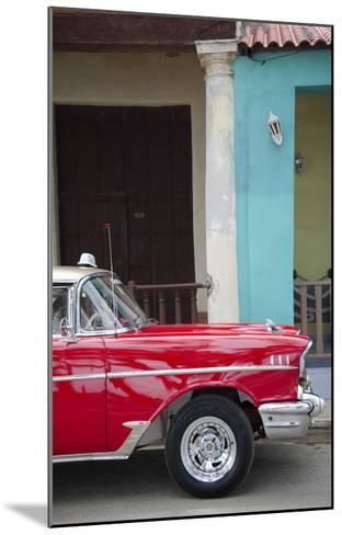 Cars of Cuba II-Laura Denardo-Mounted Art Print