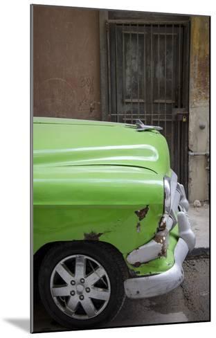 Cars of Cuba III-Laura Denardo-Mounted Art Print