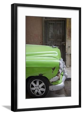 Cars of Cuba III-Laura Denardo-Framed Art Print
