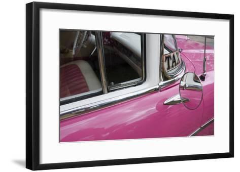 Cars of Cuba V-Laura Denardo-Framed Art Print