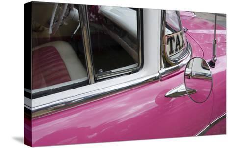 Cars of Cuba V-Laura Denardo-Stretched Canvas Print