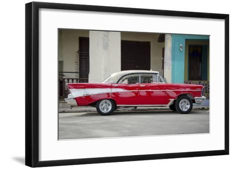 Cars of Cuba VII-Laura Denardo-Framed Art Print