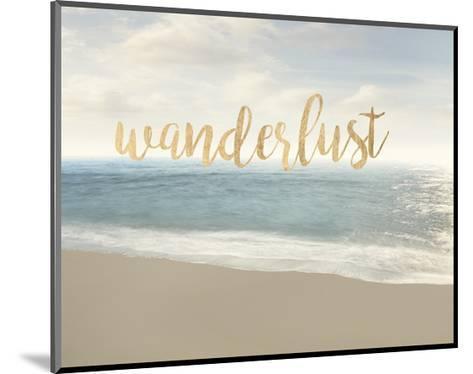 Beach Wanderlust-James McLoughlin-Mounted Art Print