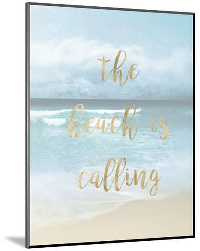 The Beach is Calling-Emily Robinson-Mounted Art Print