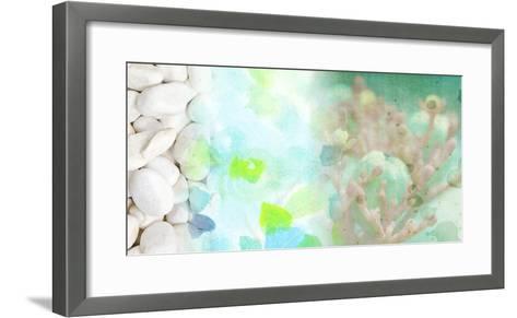 Serene Photo Collage IV-Irena Orlov-Framed Art Print