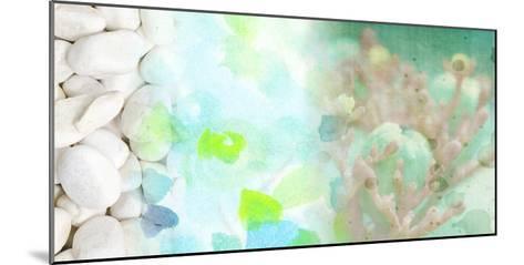 Serene Photo Collage IV-Irena Orlov-Mounted Art Print