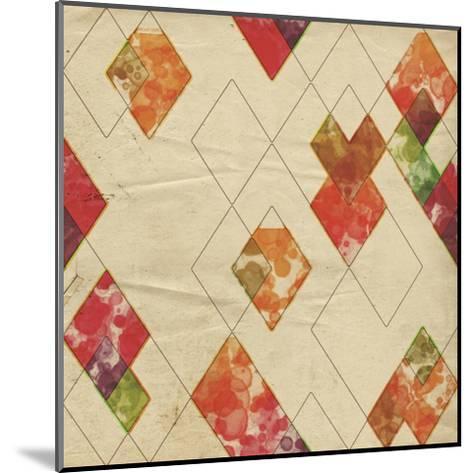 Geometric Color Shape II-Irena Orlov-Mounted Art Print