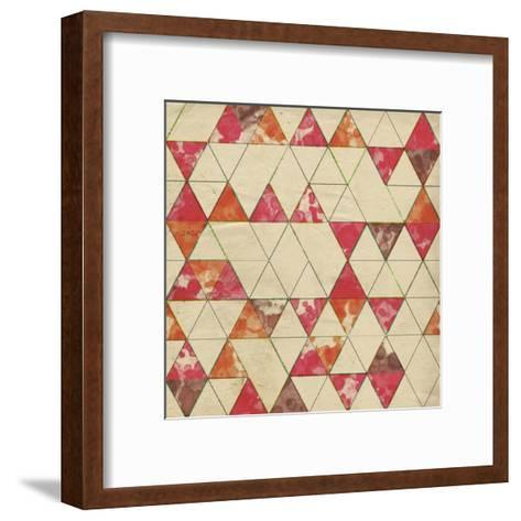 Geometric Color Shape IV-Irena Orlov-Framed Art Print