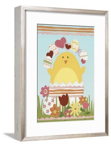 Easter Sweeties I-June Erica Vess-Framed Art Print