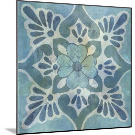 Patinaed Tile VI-Naomi McCavitt-Mounted Giclee Print