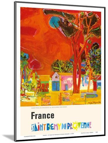France - St. Remy De Provence (Provence St. Remy) - St. Paul Monastery (Resting Place of Van Gogh)-Roger Bezombes-Mounted Art Print