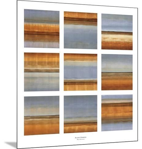 Blue Afternoon-Randy Hibberd-Mounted Art Print