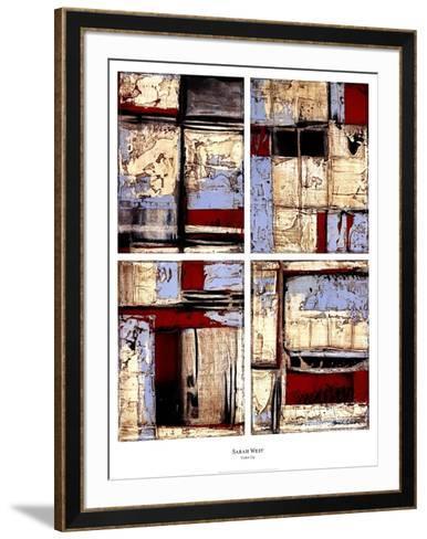 Color Up-Sarah West-Framed Art Print