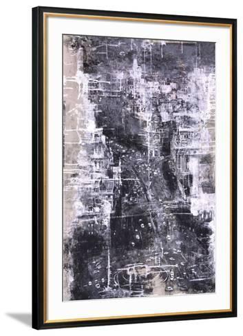 Symphony of the City IV-Jorge Azri-Framed Art Print
