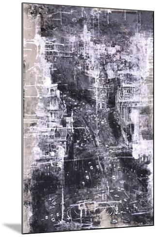 Symphony of the City IV-Jorge Azri-Mounted Art Print