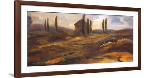 Up on the Hill-Bradford Brenner-Framed Art Print
