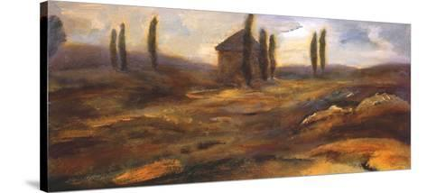 Up on the Hill-Bradford Brenner-Stretched Canvas Print