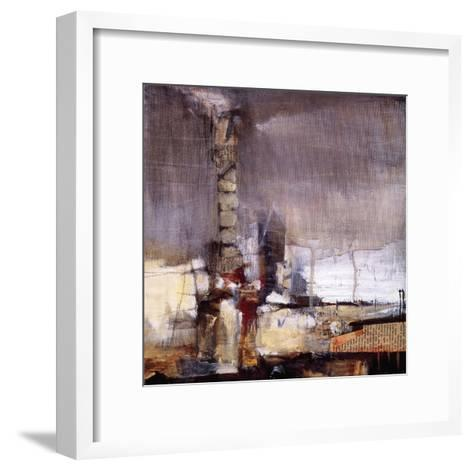 Industrial Revolution II-Terri Burris-Framed Art Print