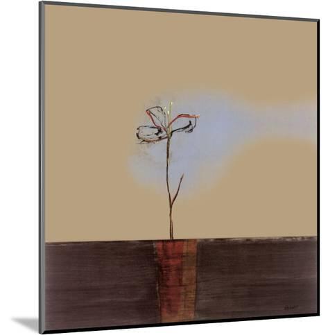 Zen Blossom I-Sarah Stockstill-Mounted Art Print
