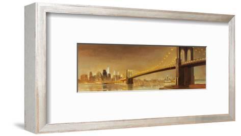 Brooklyn Bridge-Paulo Romero-Framed Art Print