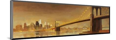 Brooklyn Bridge-Paulo Romero-Mounted Art Print
