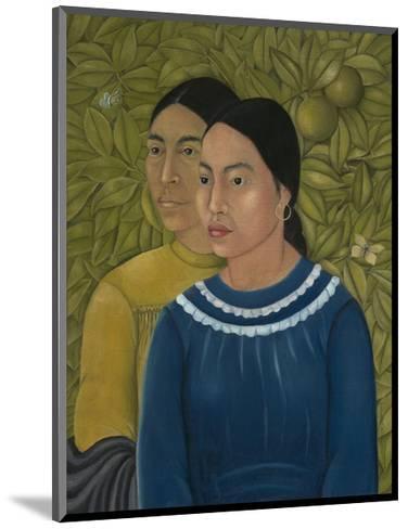 Dos Mujeres (Salvadora y Herminia), 1928-Frida Kahlo-Mounted Art Print