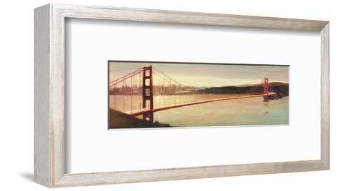 Golden Gate-Paulo Romero-Framed Art Print