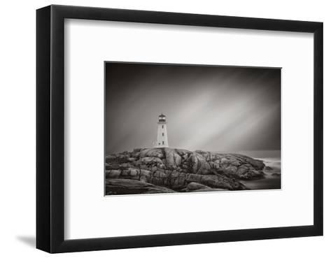 Peggy?s Cove Lighthouse-Steve Silverman-Framed Art Print