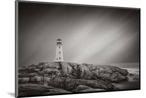 Peggy?s Cove Lighthouse-Steve Silverman-Mounted Art Print