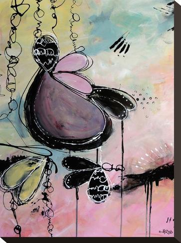 Baby Motus-Annie Rodrigue-Stretched Canvas Print