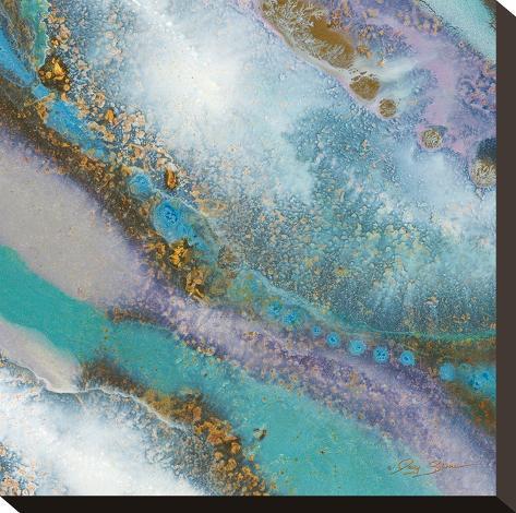 Blue Marble C-Jay Zinn-Stretched Canvas Print