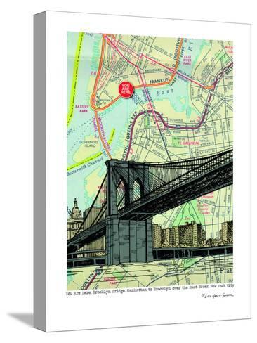 Brooklyn Bridge - Nyc--Stretched Canvas Print