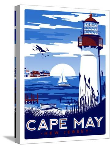 Capemay-Matthew Schnepf-Stretched Canvas Print