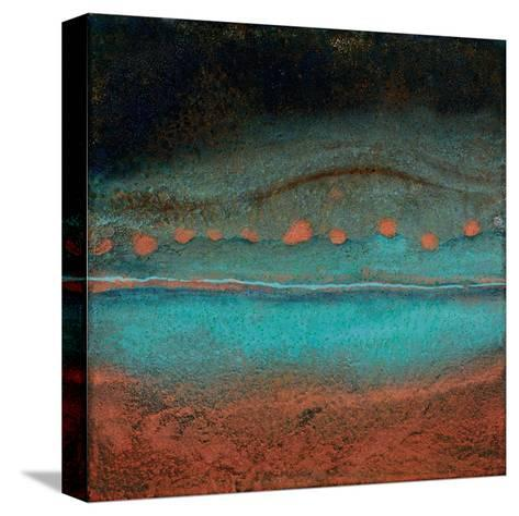 Bonfire Hill - Square-Jay Zinn-Stretched Canvas Print