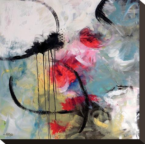 Crazy I-Annie Rodrigue-Stretched Canvas Print