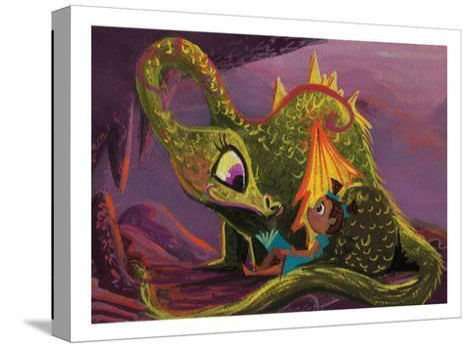 DragonRead CaraKozik-Cara Kozik-Stretched Canvas Print