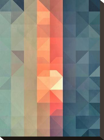 Dywnyng Ynww-Spires-Stretched Canvas Print