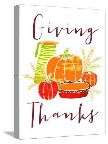 Giving Thanks-Advocate Art-Stretched Canvas Print
