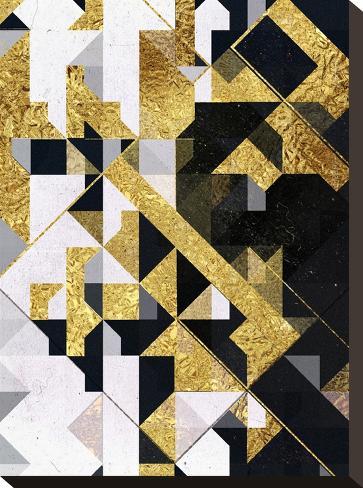 Gyld Lyyfd-Spires-Stretched Canvas Print